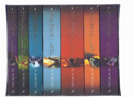 Harry potter and the goblet of fire book spine