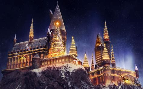 Spend Christmas At Hogwarts This Year In Florida For A