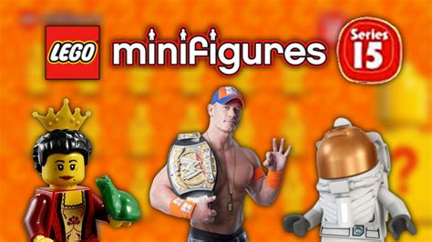 LEGO Minifigures Series 15 - Character list revealed