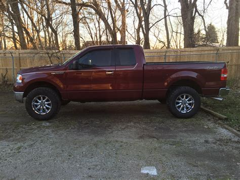 295/70r18 tires on a 2 inch level? - Page 3 - Ford F150