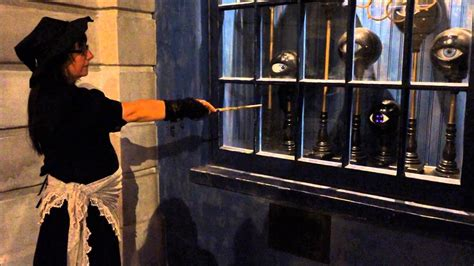 Casting A Spell With An Interactive Wand, Diagon Alley