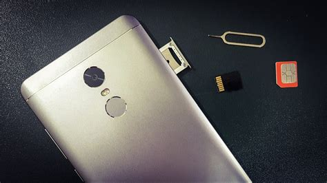 How To Insert Sim Card and Micro SD Card In Xiaomi Redmi