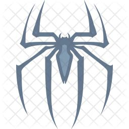 Spiderman logo Icon of Colored Outline style - Available