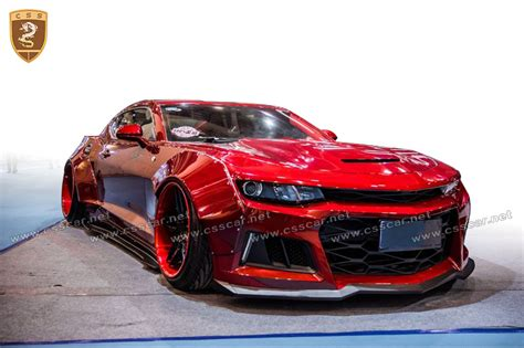 New Cs Style Wide Body Kit For Chevy Camaro 2017 In Frp