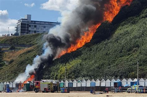 Bournemouth fire: Large blaze caused by 'cooking accident