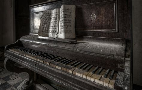 Wallpaper notes, music, piano images for desktop, section