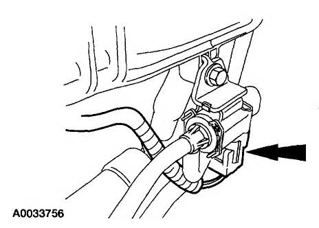 Where is the lower throttle body on a 2003 Mazda B2300 PU?