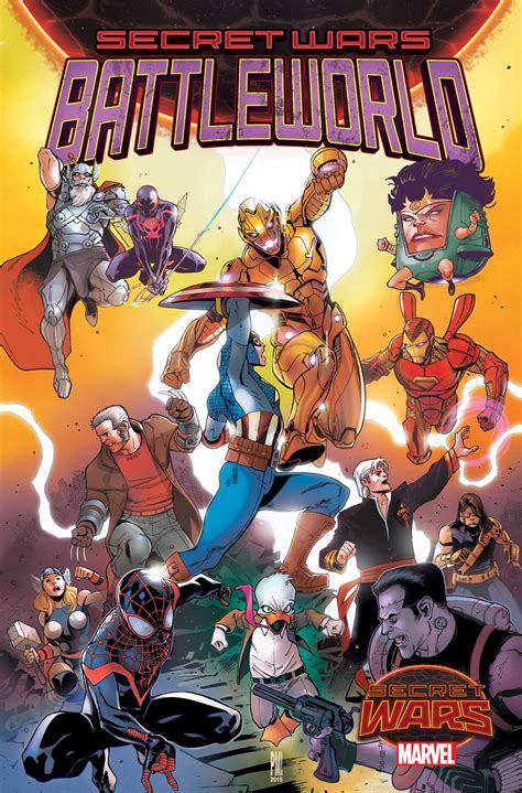 THIS WEEK IN SECRET WARS: An Explosion of New Titles