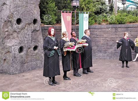 Harry Potter In The Universal Studios Editorial Stock