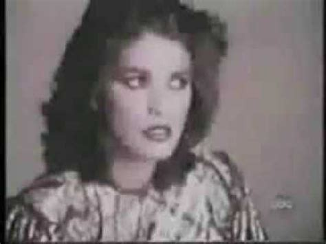Gia Carangi unseen footage of her only interview - YouTube
