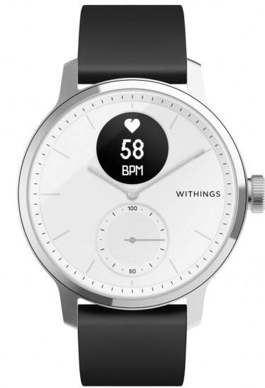 Withings Scanwatch 42mm - White - Chytré hodinky | Alza