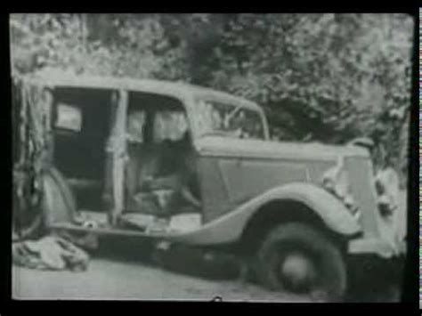 Bonnie and Clyde death scene, 1934