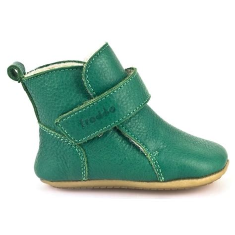 Pre Walkers G1160001-7 Green, Soft Leather