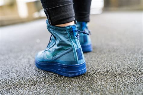 Nike Women's Air Force 1 Shell Midnight Turquoise/Geode