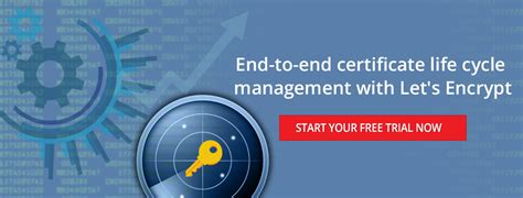 End-to-end certificate lifecycle management with Let's