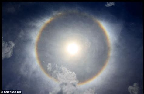 Ice Crystals on the Rise: Stunning 'Sun Dog' Spotted from