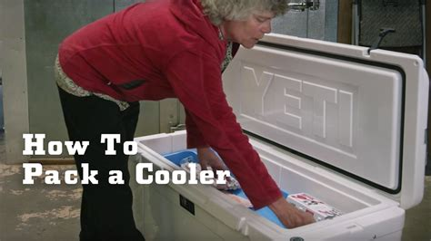 How to Pack a Cooler for Adventure Travel   YETI - YouTube