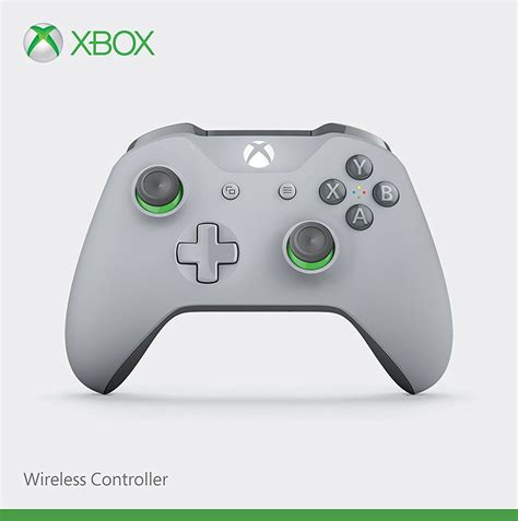 Wireless Controller v2 - Grey + Green (Xbox One)(New