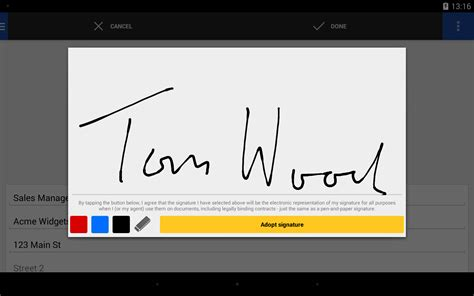 DocuSign - Android Tablet - English - Evernote App Center
