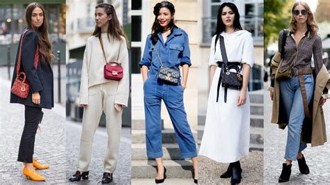 Small Crossbody Bags Were a Street Style Favorite On Day 1