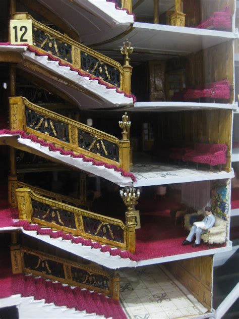Inside the RMS Titanic Model   Inside the Queen Mary is a