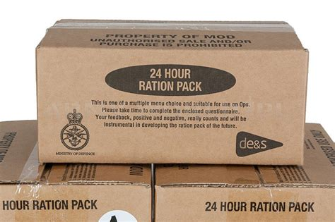 Ration Pack British Army 24 Hour Oryginal   MILITARY