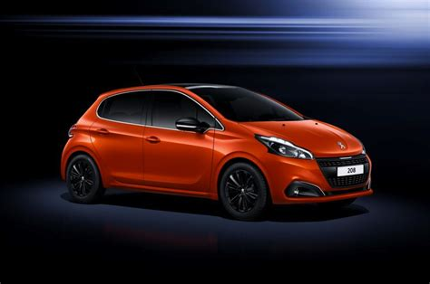 2015 Peugeot 208 facelift revealed; more tech, updated