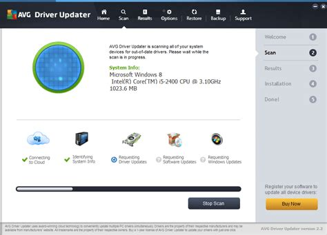 AVG Driver Updater 2016 - download in one click