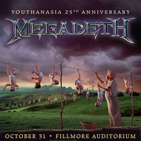 Megadeth Megadeth to Celebrate 25th Anniversary of Youthanasia