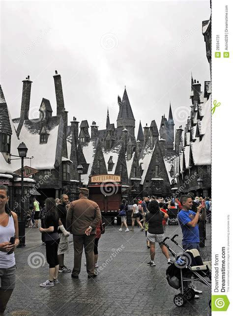Harry Potter In The Universal Studios Editorial Photo
