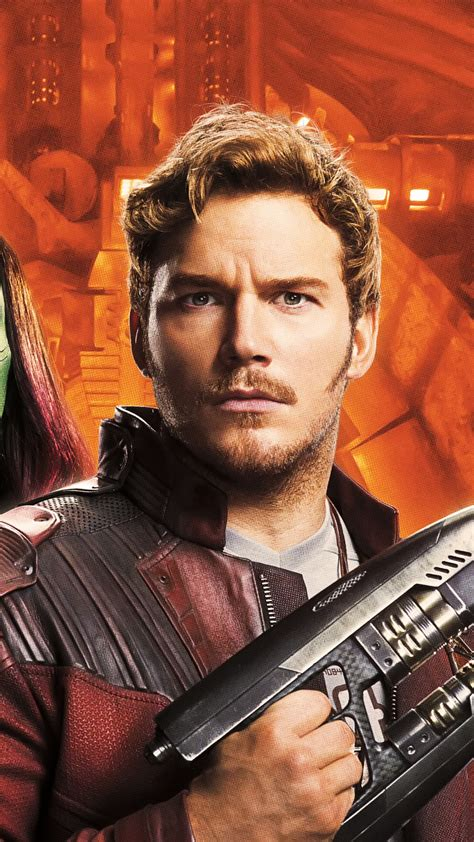 Wallpaper Guardians of the Galaxy Vol 2, Peter Quill, Star